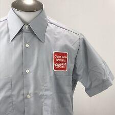 Vtg Coke Coca Cola Bottling Company New Employee Short Sleeve Shirt Mens Medium