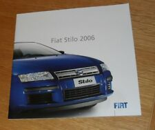 Fiat Stilo Brochure 2006 - Active Sport Sporting Dynamic - 1.4 16v 1.9 Multijet