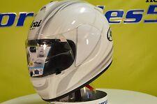 Arai Vector Contrast White Sport Bike Motorcycle Helmet XS Open Box 815150