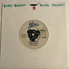 """Bobby Vinton - """"Blue Velvet""""  7"""" (1990)  / """"Blue On Blue"""" /  VIN1"""