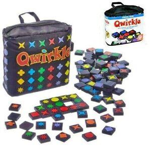 MindWare Qwirkle Travel Size Strategy and Logic Family Game - Mix, Match, Score