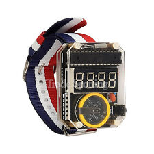 SainSmart DIY Electronic LED Watch Kit DIY Watch Arduino Base