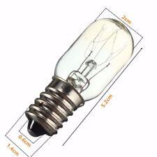 Confezione da 3 x 15W B15 Pigmeo Elettrodomestico Lampadina macchina da cucire segnaletica lampada SBC