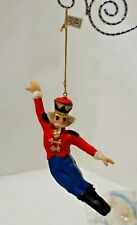 "(1) New Midwest Bnr Nutcracker Suite Ornament "" Nutcracker "" ~ 5+"" Nip"