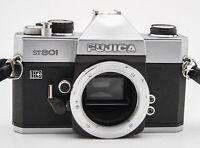 Fujica ST801 Body Gehäuse SLR Kamera analoge Spiegelreflexkamera