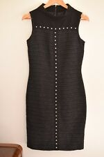 Cue wool blend , textured dress..sleeveless..straight fit...size 8....excellent