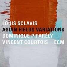 Sclavis Louis - Asian Fields Variations NEW CD