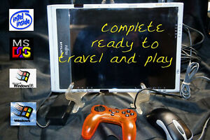 RETRO Gaming PC TABLET Alienware speed  SSD LOADED & READY for WORK XP- 7 or 10