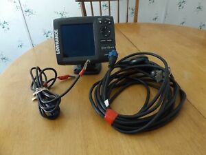 Pre-Owned Lowrance Elite-5 HDI With Transducer & Power Cable