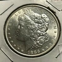 1896 MORGAN SILVER DOLLAR HIGH GRADE COIN