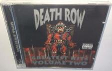 VA DEATH ROW RECORDS GREATEST HITS VOLUME 2 (2003) BRAND NEW SEALED RARE OOP 2CD