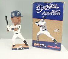 2007 Milwaukee Brewers Bill Hall Bobblehead In Box