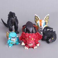 Godzilla Destoroyah Gigan Muto Mothra Chibi Movie 6 Toy Figures Cake Topper Xmas