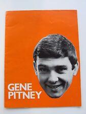 Gene Pitney Programm 1965 The Troggs, Die Beute, Sounds inklusive, Bryan Burdon
