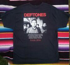 Deftones Concert T shirt GORE Tour 2016 Large