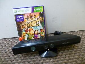 Official Microsoft Xbox 360 Kinect Sensor Camera + Kinect Adventures! Game