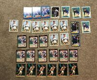 TINO MARTINEZ ROOKIE BASEBALL CARD LOT 33X - TOPPS - DONRUSS - STADIUM CLUB WOW!