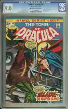TOMB OF DRACULA #10 CGC 9.0 OW/WH PAGES // 1ST APPEARANCE OF BLADE 1973