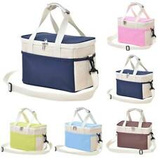 Thermal Insulated Lunch Bags Portable Waterproof Outdoor Camping Picnic Boxes UK