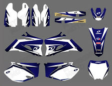 Decal Sticker Graphic Kit Motocross For Yamaha YZ250F YZ450F 2006-2009 Free Ship