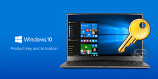 Windows 10 Authentique Pro 32/64BIT OEM Original Clé de licence-Scrap PC