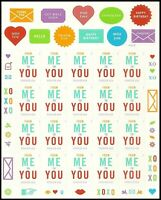 From Me To You Forever Sheet of 20 Thank You Stamps Scott 4978