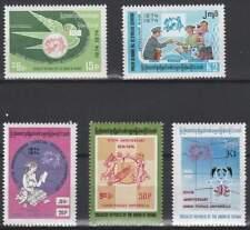 UPU 100 Jaar - Birma postfris 1974 MNH 239-243 (upu046)