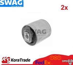 2x SWAG 30600016 LOWER CONTROL ARM TRAILING ARM BUSH X2 PCS