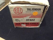 BILL / MEM Memshield 1 - 3T322 - 32A Type 3/C Double Pole M9 MCB  * BNIB *