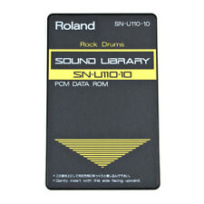 ROLAND SN-U110-10 ROCK DRUMS Memory ROM Card for U110 synth