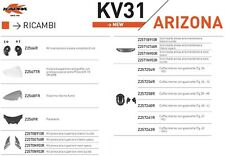 RICAMBIO KAPPA Z2569R - PARAVENTO CASCO KV31 ARIZONA
