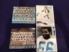 DALLAS COWBOYS CHEERLEADERS 1977 Thomas Henderson Signed Autograph Team Photos