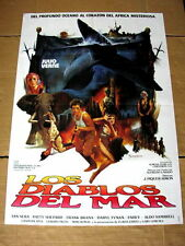 SEA DEVILS Original JULES VERNE DICK SAND Movie Poster PATTY SHEPARD FRANK BRANA
