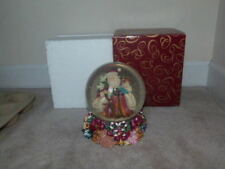 Beautiful Large San Francisco Music Box Company Snow Globe Father Christmas Xmas