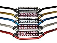 New Renthal Handlebars 22mm 7/8 CRF RMZ KXF YZF YZ KX 809-01-SI SILVER RC High