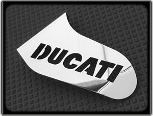 DUCATI 996 Style Racing Shark Fin - Polished Moto GP Toe Guard
