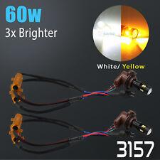 Error Free 3157 High Power Dual Color Switchback LED Turn Signal Light Bulbs
