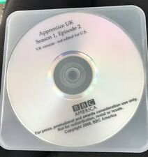 APRRENTICE UK Screener DVD BBC America UK Version Season 1 Episode 2 2009