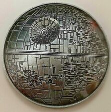3D Death Star Wars Gold Silver Coin Darth Vader Trek Outer Space Dave Prowse