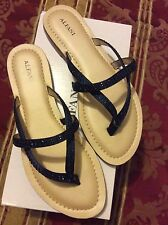 (You Can Buy NOW )Alfani Pirseynavy Ink Women's Shoes  With Blue Stones Size 8
