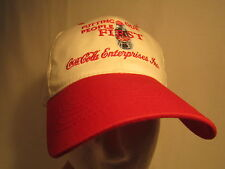 Men's Cap COCA COLA Putting Our People First COKE Size: Adjustable [Z164a]