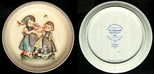 """Hummel Anniversary Plate ~ 1980 ~ Spring Dance ~ Second Edition ~ 10"""" Plate"""