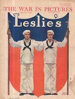 1918 Leslie's March 16 - Hog Island; Yama Yama Division; William P Kennedy