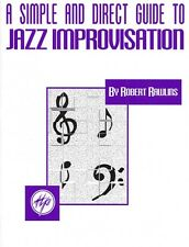 A Simple and Direct Guide to Jazz Improvisation Jazz Book New 000841046