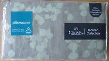 Christy Funda de almohada Oxford Par De Algodón Pintado Hoja Verde