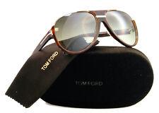 New Tom Ford Sunglasses Men Aviator TF 334 Havana 56K Dimitry TF334 59mm