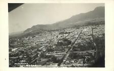 Rppc Oaxaca, Mexico Aerial View Panorama ca 1940s Postcard