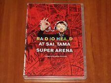RADIOHEAD AT SAITAMA SUPER ARENA HALL LIVE IN TOKYO 2008 JAPAN CONCERT DVD New