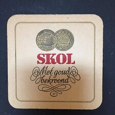 SKOL BIER COASTER ~ IMPORTED BREWING COMPANY