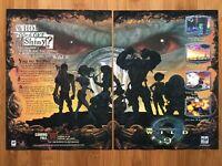 Wild 9 Playstation PS1 PSX 1997 Doug Tennapel Video Game Poster Ad Art Print HTF